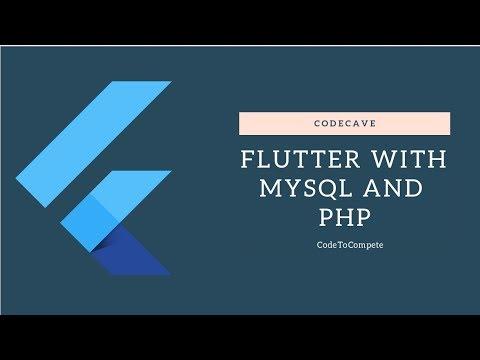 Flutter With Mysql And Php Crudoperation Part 1flutter Myql Php