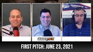 MLB Picks and Predictions   Free Baseball Betting Tips   WagerTalk's First Pitch for June 23
