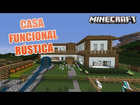 Minecraft una torre funcional y hermosa casas de for Minecraft casas de lujo
