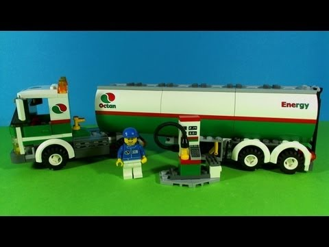 LEGO CITY TANK TRUCK 3180