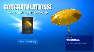 COMO DESBLOQUEAR EL UMBRELLA DE ORO en Fortnite..
