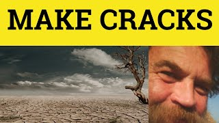 Make Cracks - Make Wisecracks - To Wisecrack - Vocabulary Builder 3- ESL British English