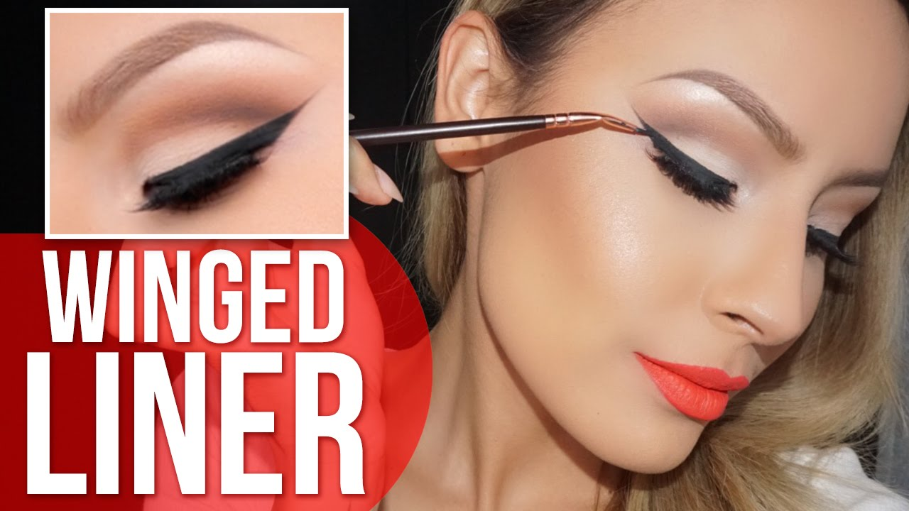 How to perfect winged liner tutorial desi perkins youtube baditri Image collections