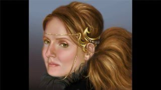 photoshop top secret- painting fantasy portraits 1