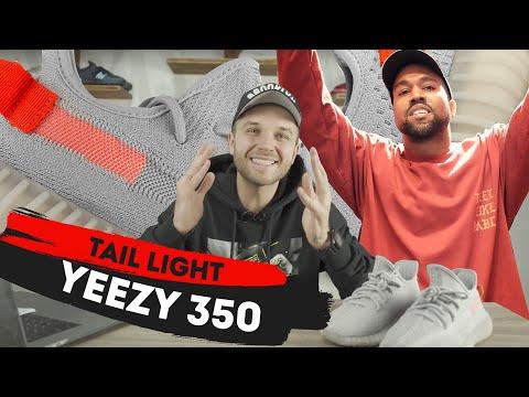 Нескучный обзор самых узнаваемых кроссовок | Yeezy 350 Tail Light | Розыгрыш прилагается.