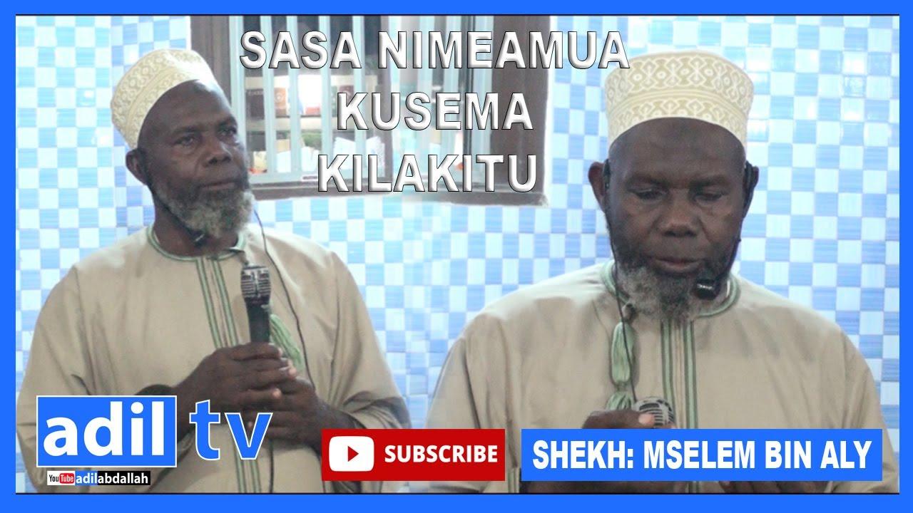 Download SHEKH: MSELEM BIN ALY SASA NIMEAMUA KUSEMA KILA KITU/HUU NDIO UKWELI