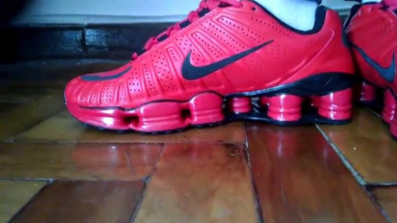 05df3d016915a ... new zealand tênis nike shox tlx 12 molas vermelho youtube 7213f 92025