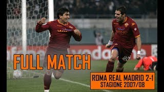 Roma Real 2-1 | Full Match Stagione 2007/08