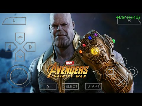 [80mb] BEST AVENGER INFINITY WAR GAME FOR PPSSPP ANDROID