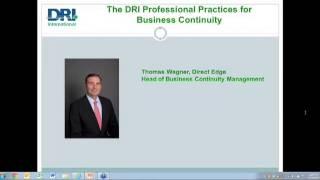 DRI Webinar Series: