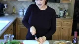Jodi Spindel Prepares Pomegranate Dressing