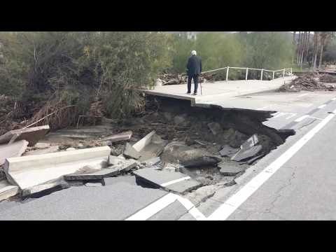 Devastation in Palm Springs from Catastrophic Floods
