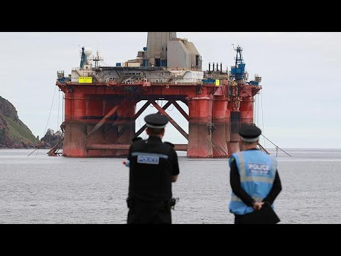 France 24:Climate of urgency': Tensions rising amid Greenpeace's BP protests