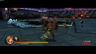 Sengoku Basara 3 Utage on emulator gameplay 01 (1/2)