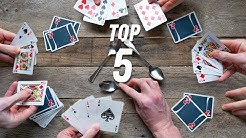 TOP 5 BEST CARD GAMES OF ALL TIME!!
