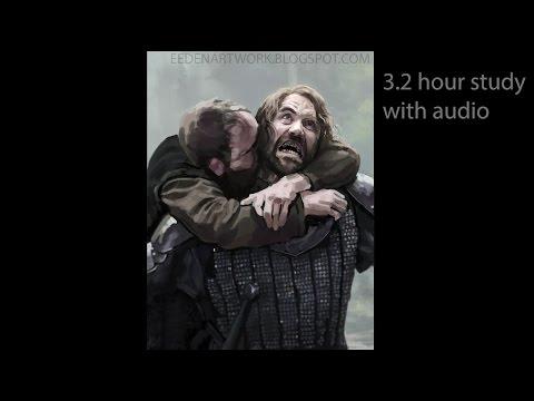 The Hound (Sandor Clegane) - 3 hour study with audio