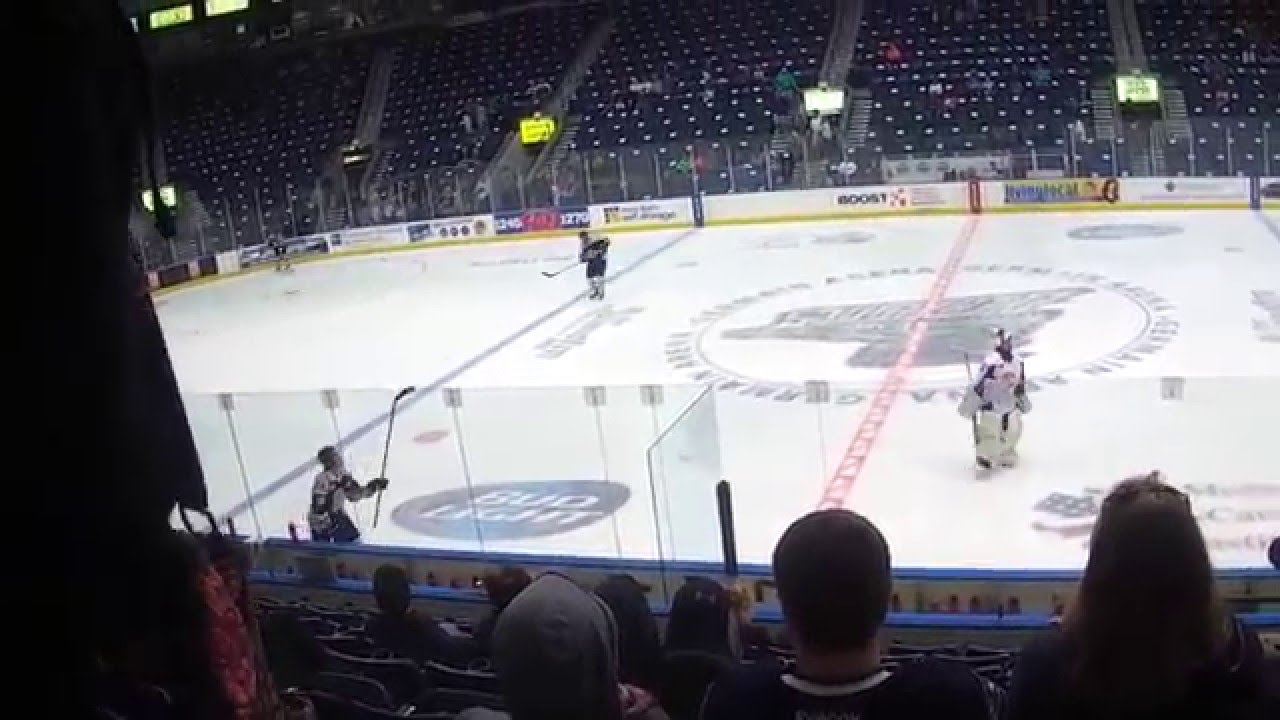 Inside Germain Arena For A Florida Everblades Hockey Game Youtube