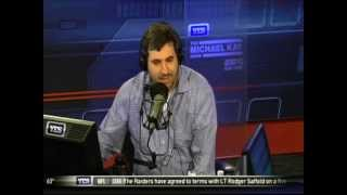 04-03-15 The Michael Kay Show on Throwing Out Dave Rothenberg