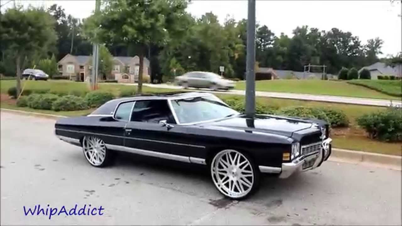 All Chevy 1971 chevrolet caprice for sale : WhipAddict: 72' Chevrolet Caprice Donk on 26