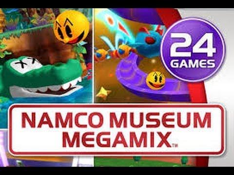 Namco Museum Megamix Classic Arcade Games