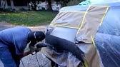 Mobile Auto Bodywork & Paint Job (fixing a dent with a uni-spotter)