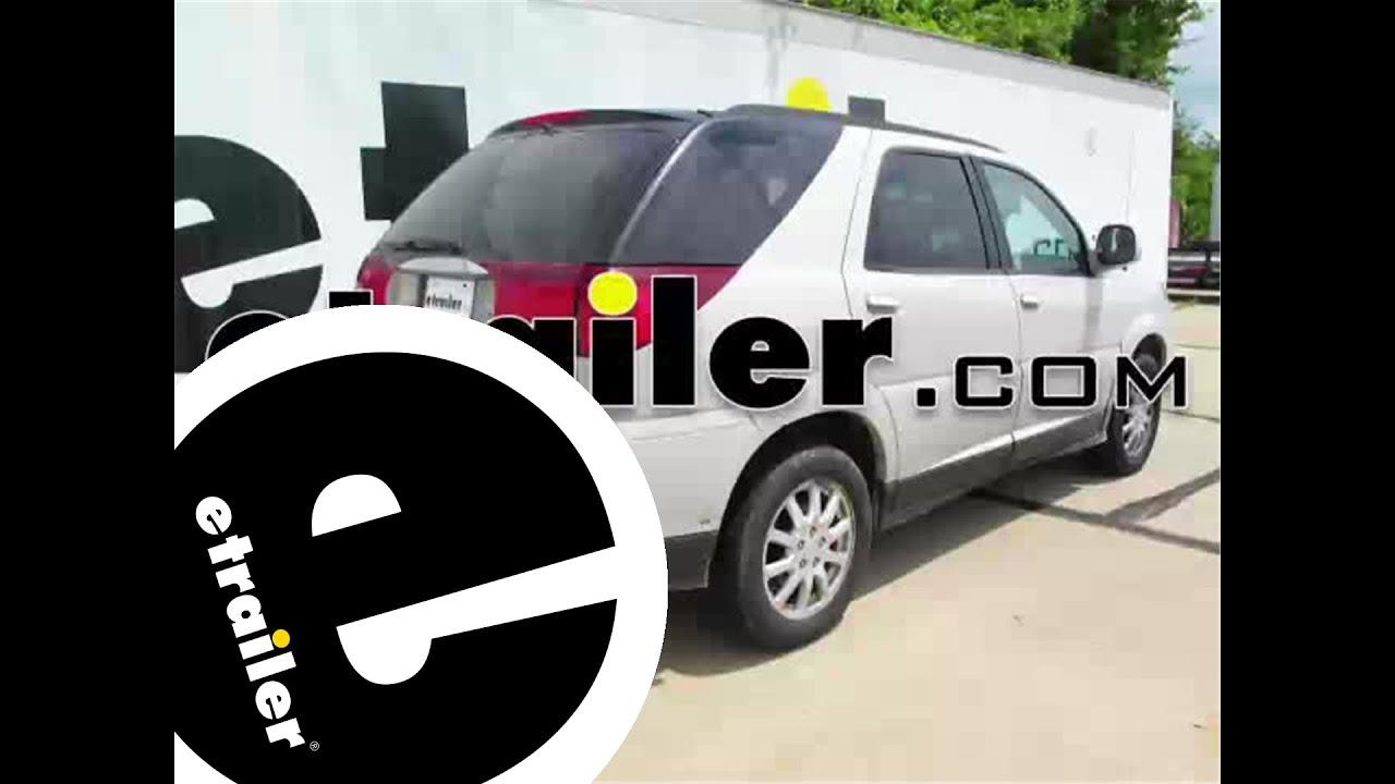 hight resolution of trailer hitch installation 2007 buick rendezvous curt etrailer com