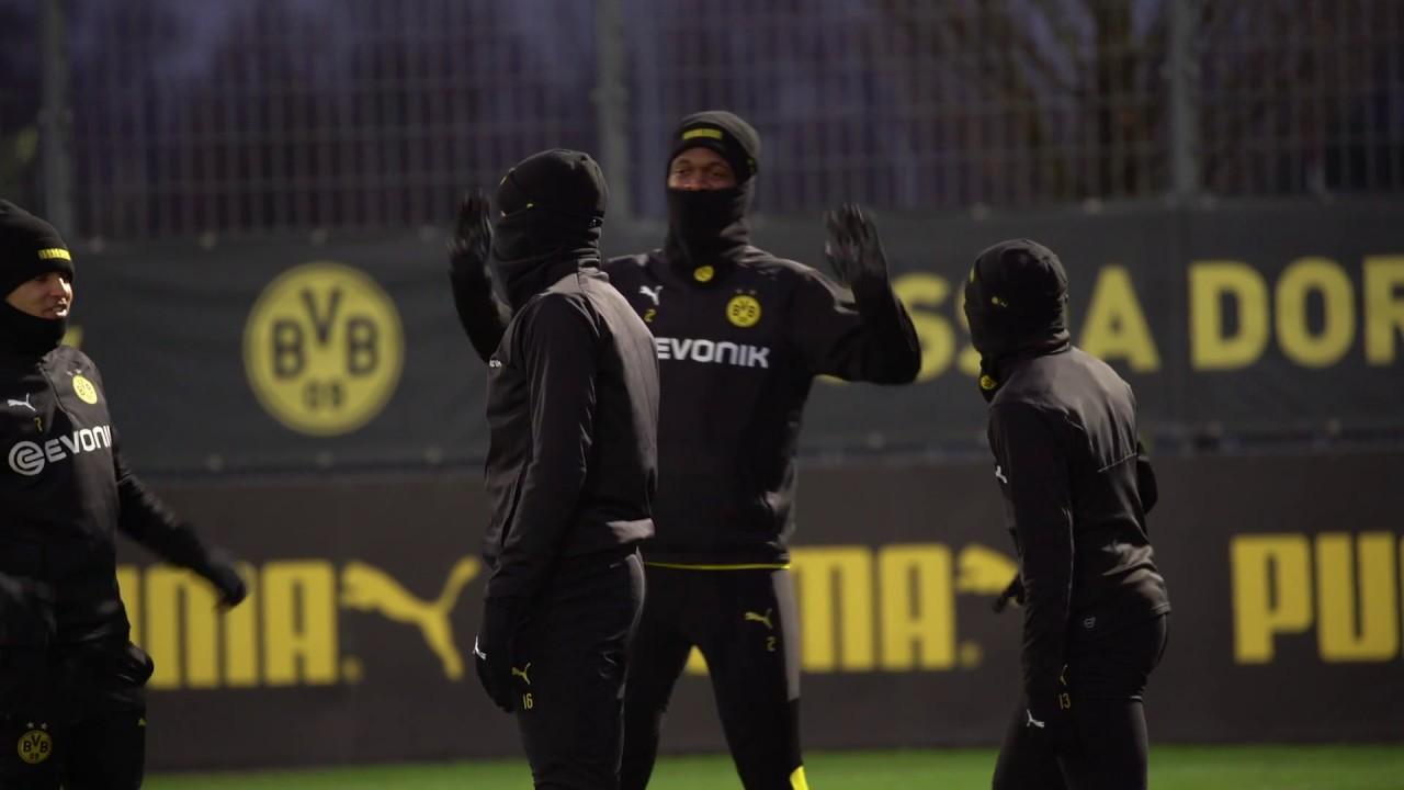 So lief das BVB-Training vor dem Spiel gegen Slavia Prag