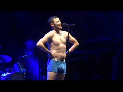 Will Young strips at Vivary park Taunton - Evergreen
