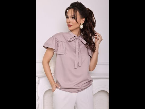 Блуза женская Мода-Юрс модель 2680 pylno rozowyj