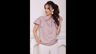 Блуза женская Мода Юрс модель 2680 pylno rozowyj