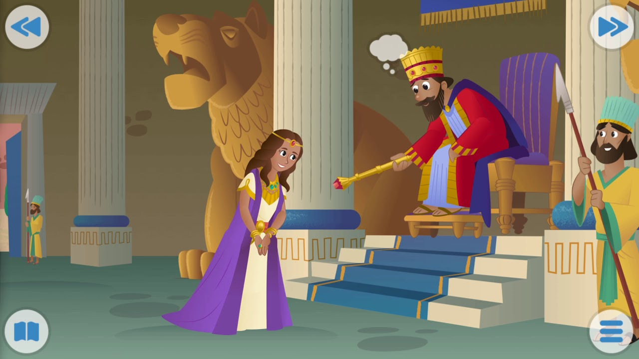 Bible story- The Brave and Beautiful Queen Esther ...