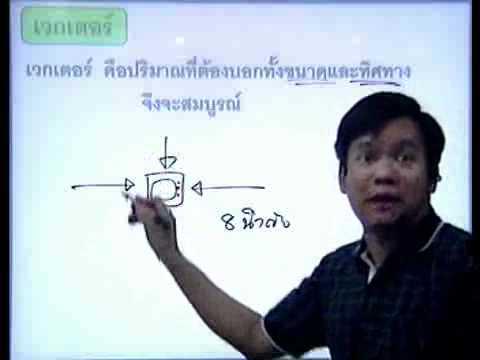 ติว คณิต 09 เวกเตอร์ 1-2