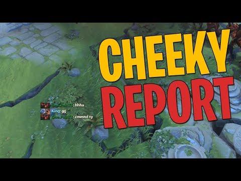 Cheeky Report - DotA 2 Techies Full Match