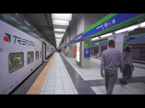 Italy, train ride from Milano Certosa to Milano Lancetti