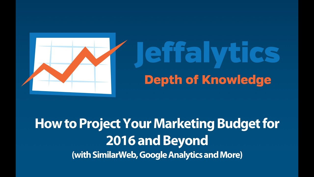 How to Project Your Marketing Budget for 2016 and Beyond