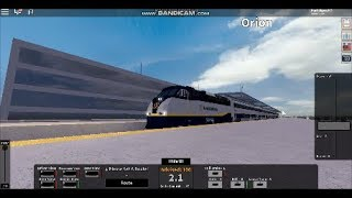 (NEW GAMING INTRO) Roblox Rails unlimited: Driving Amtrak Capitol corridor both ways.
