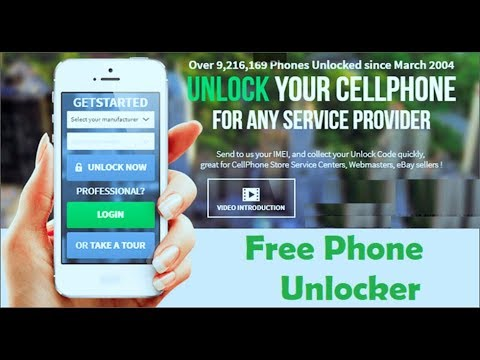 Phone Unlocker - Sim Unlocker Free - How To Unlock A Phone - Use It With Any Sim Card