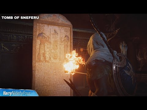 Assassin's Creed Origins (AC Origins) - All Tomb Locations & Walkthroughs