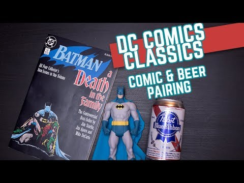 Batman Death in the Family Graphic Novel Series | DC Comics Classics | Comic Book Beer Pairing