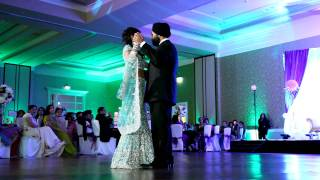Awesome Indian Wedding First Dance - Pro Indian Wedding Video Photographer NYC