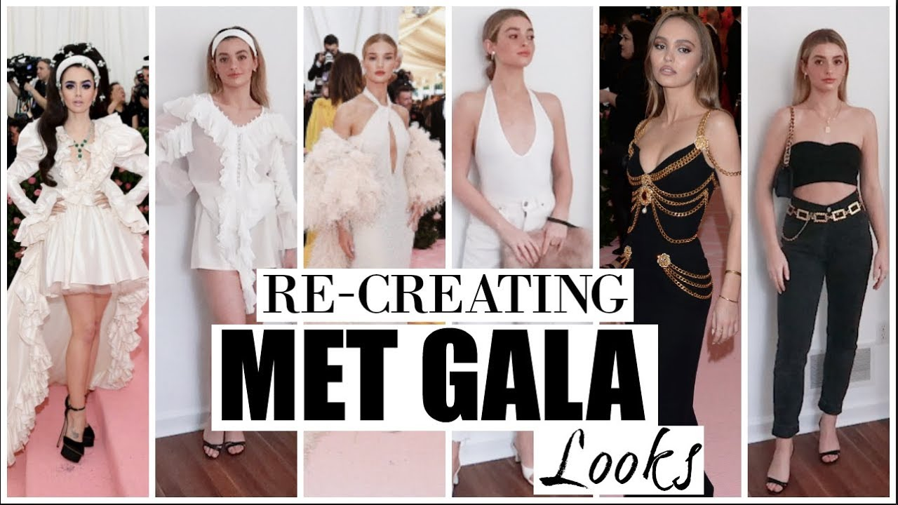 Re-creating MET GALA LOOKS into CASUAL OUTFITS! 4