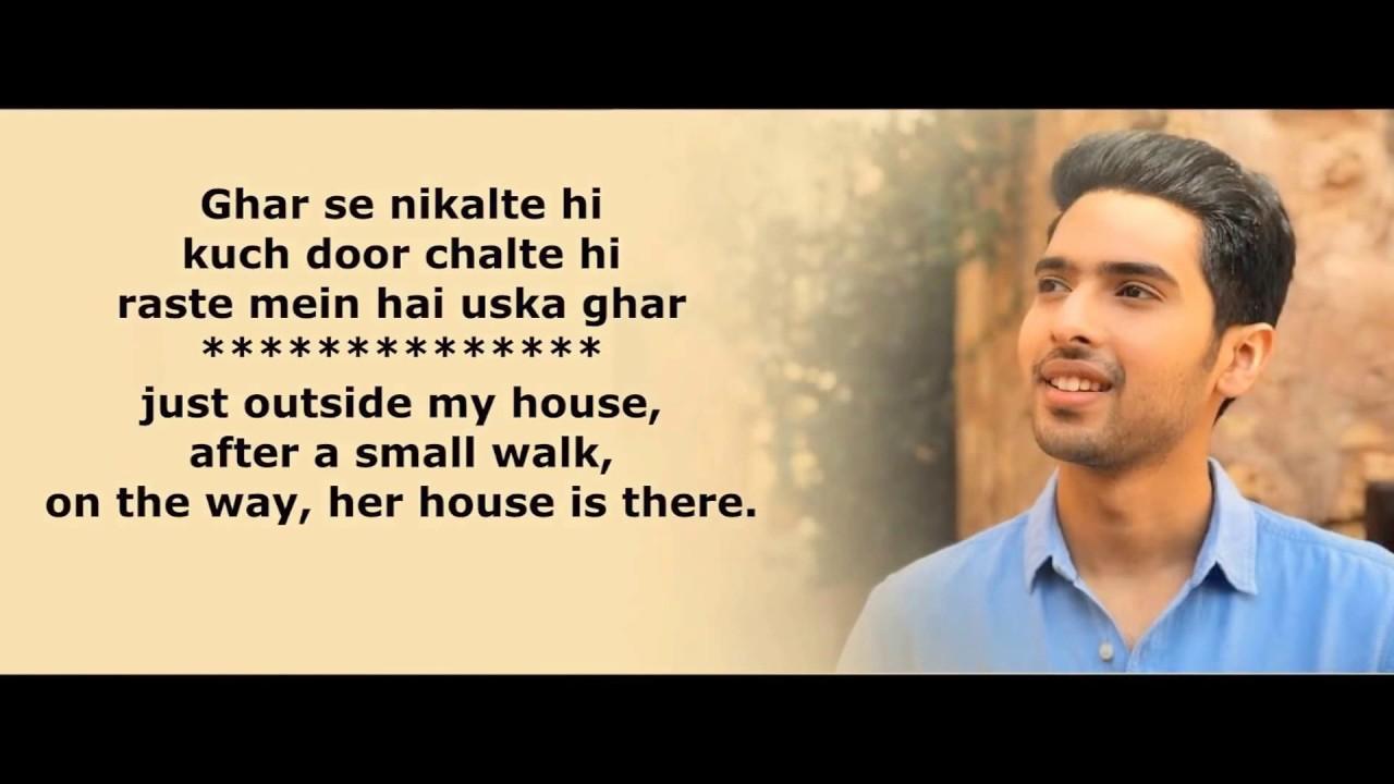 Ghar se Nikalte Hi Lyrics Translation Armaan Malik - YouTube