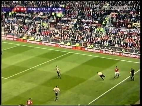 Manchester United 0-1 Arsenal 2001/02 title won at old traff