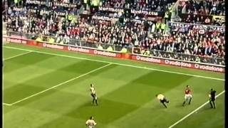Manchester United 0-1 Arsenal 2001/02 title won at old trafford FULL MATCH
