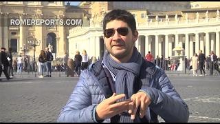 No hay barreras para Federico: saludó al Papa dos veces y subió hasta la cúpula de San Pedro