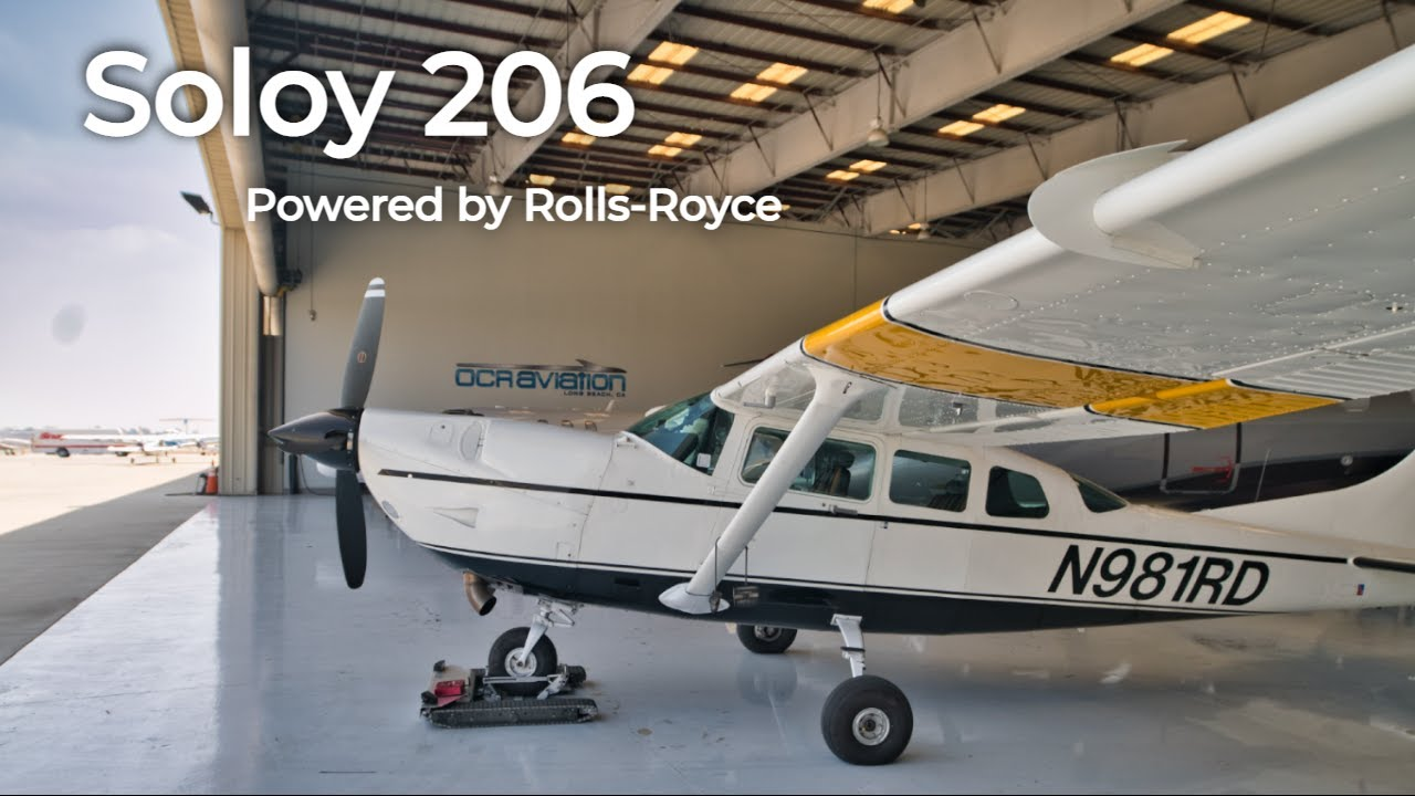 #35 1980 Soloy 206 FOR SALE - The Ultimate STC for the Cessna 206