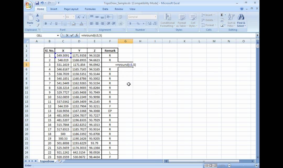 how to get t stat in excel