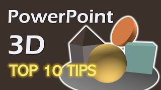 How to Make 3D Models In PowerPoint - Top 10 Tips - PowerPoint Tricks