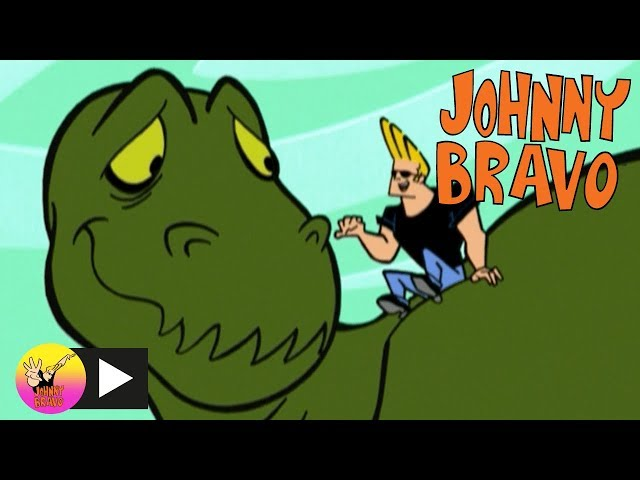 Johnny Bravo   Pet Dinosaur   Cartoon Network