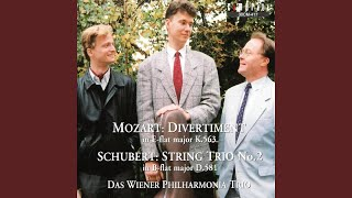 String Trio No. 2 in B-Flat Major, D. 581: II. Andante